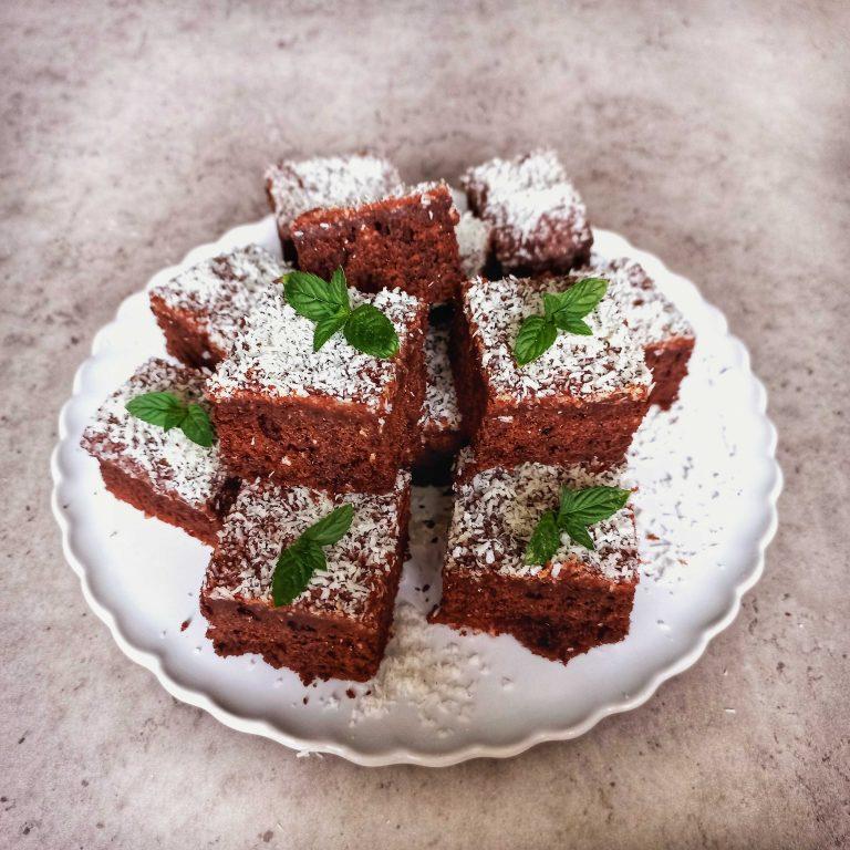 Cuketový koláč z pohánkovej múky Pernerka