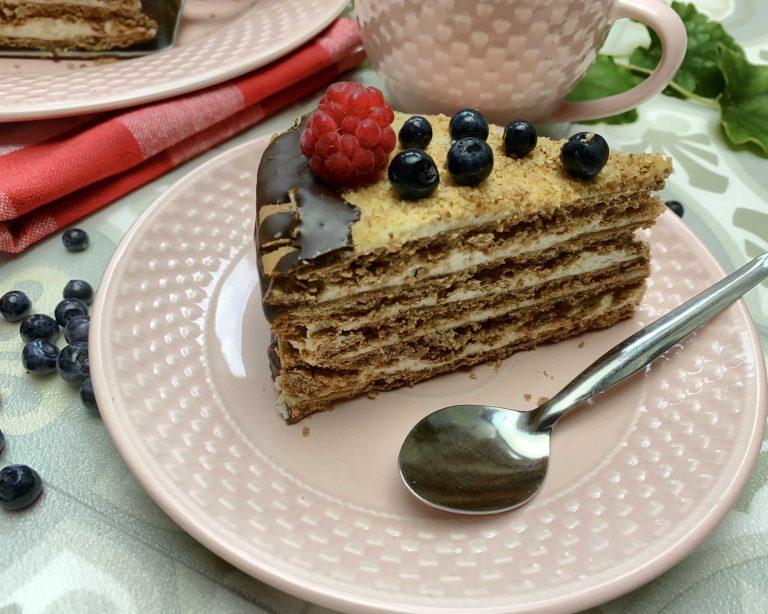 Medová tortička zpohánkovej múky Penrerka